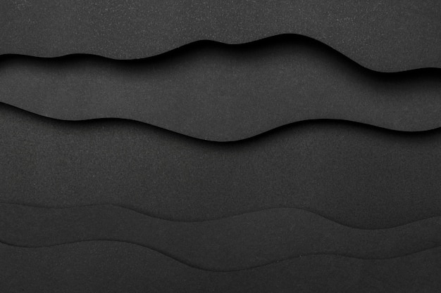 Wavy layers of lines copy space background
