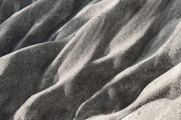 波状の石山のテクスチャ