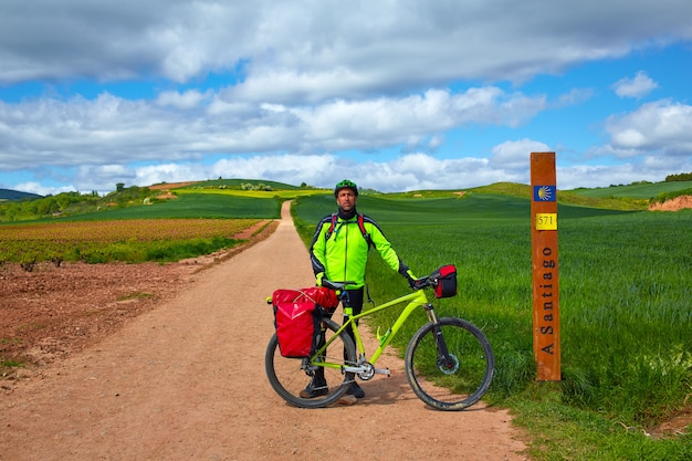 The way of saint james biking 571 km to santiago