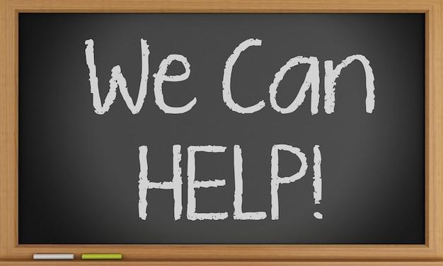 We can help on blackboard background.
