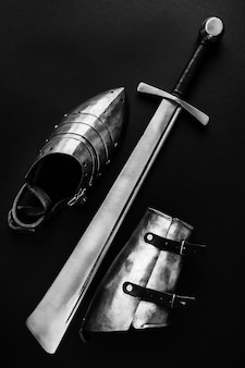Weapons and armor for historical battles
