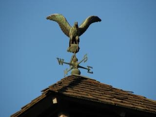 Weather vane eagle