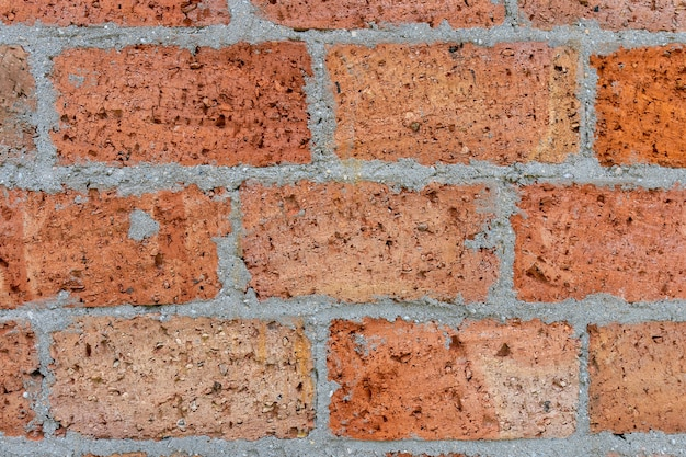 풍 화 묻은 오래 된 벽돌 벽 배경