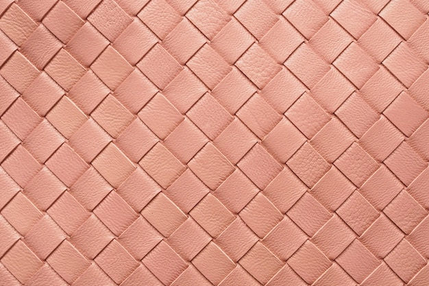 Weave leather texture pattern background