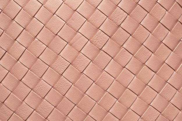 Плетение кожаной текстуры узор фона