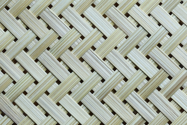 Текстура бамбука weave корзина фон.