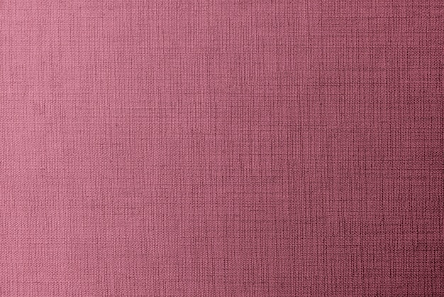 Weaved pink linen fabric
