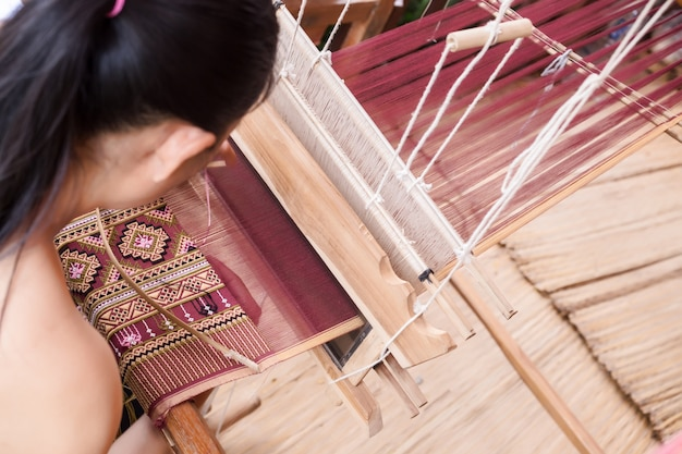 Weaving, thailand