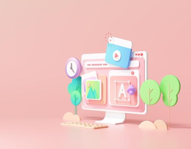 Web development and seo optimization marketing