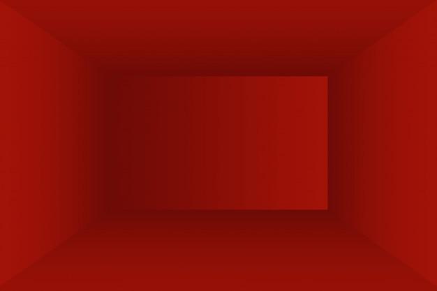 抽象的な豪華な柔らかい赤い背景クリスマスバレンタインレイアウトデザイン、スタジオ、部屋、webテンプレート、滑らかな円のグラデーションカラーのビジネスレポート。