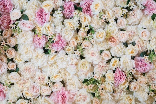 Wedding background,  flower decoration