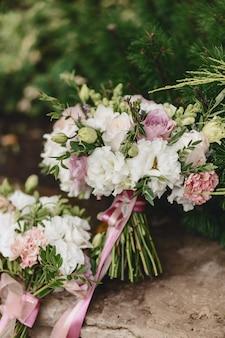 Wedding bouquet and wedding decoration