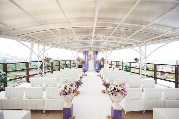 シンデレラ風の結婚式