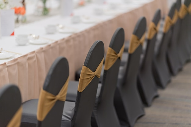 Wedding chair decoration, event chair