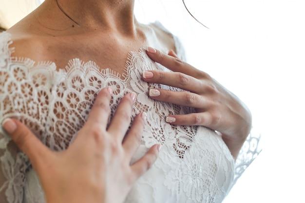 結婚式の日の瞬間