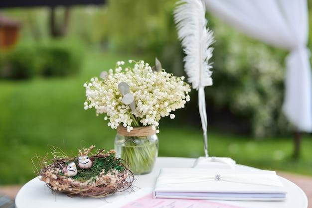 웨딩 장식, 자연, 결혼식