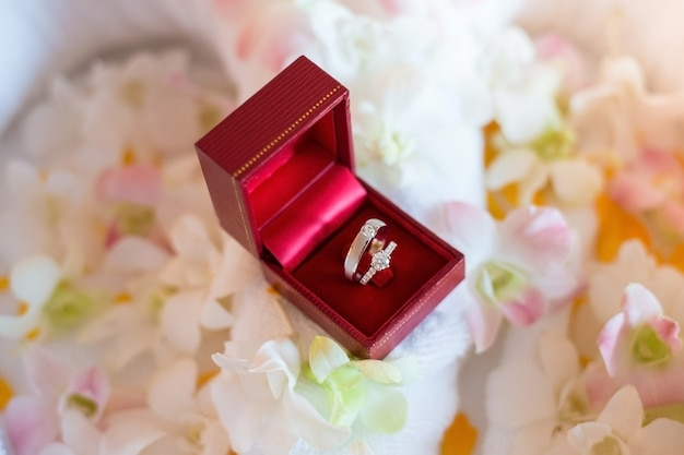 ウェディングダイヤモンドリングとジュエリーファッションデザイン