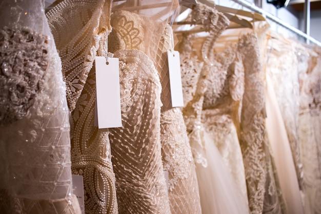 Wedding dress bridal dress hanging outfit hanger shop