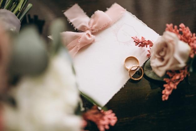 결혼식 초대 카드