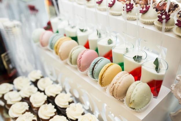 Свадебные конфеты и десерты
