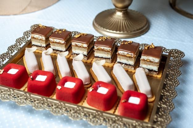 Wedding sweets candy bar
