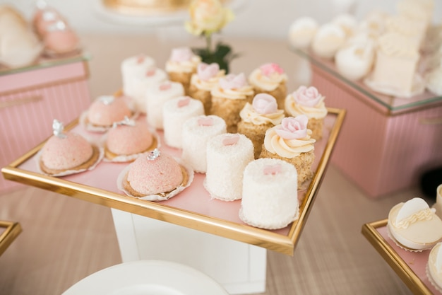 Wedding table desserts