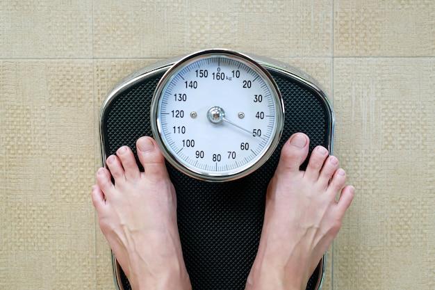 비만인을위한 체중계