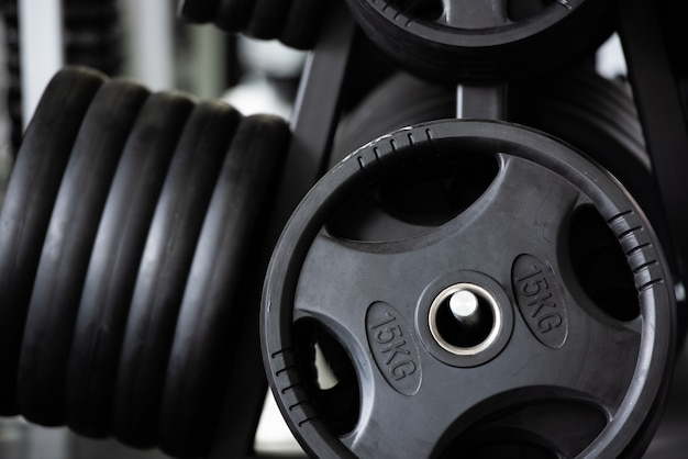 Weight sport equipment gym bodybuilding.