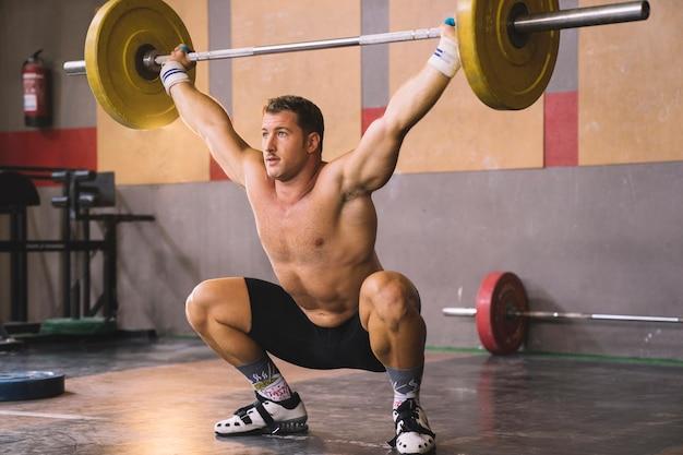 Концепция тяжелой атлетики с поднятием штанги