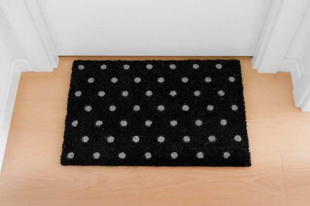 Welcome home black mat. house