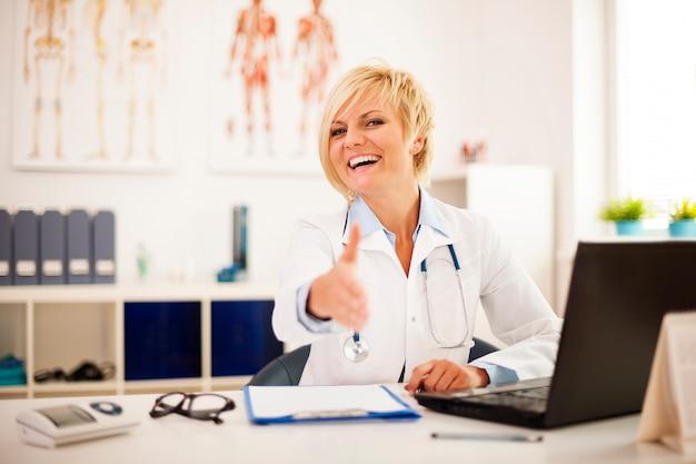 Добро пожаловать в кабинет моего врача