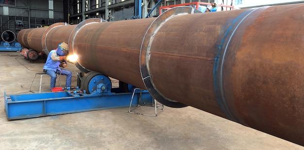 용접 인 용접 석유 및 가스 해양 산업