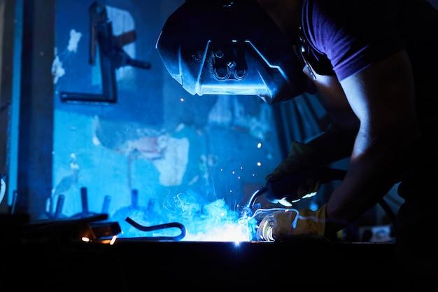 Welding wrought iron