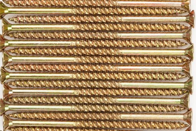 Well-ordered golden screws