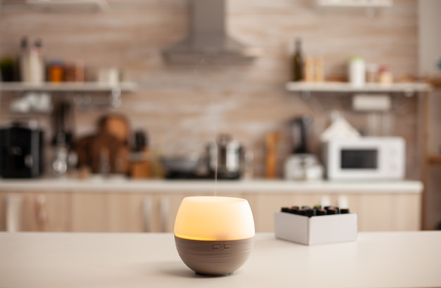 Wellness aromatherapy essential oils diffuser
