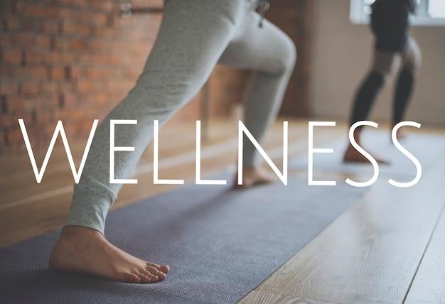 Микс словесных словосочетаний wellness health