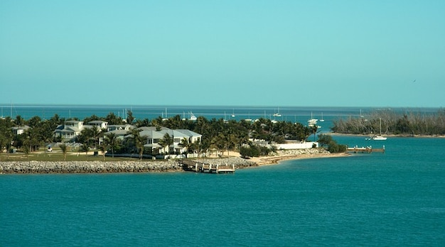 Западное побережье пляж природа ключевых океана во флориде