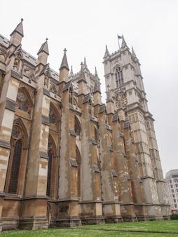 런던의 웨스트민스터 사원 교회