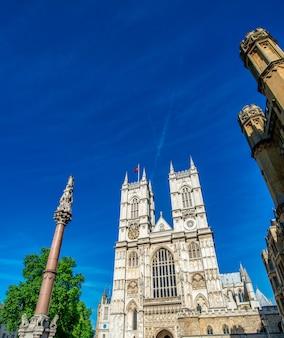 晴れた夏の日のウェストミンスター寺院、ロンドン-イギリス