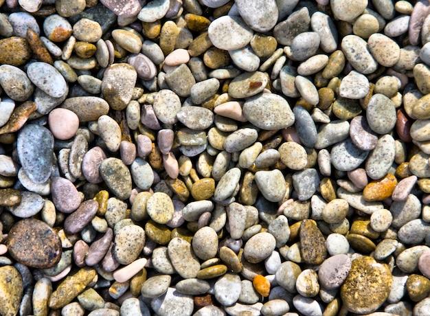 Мокрый морской камень фон