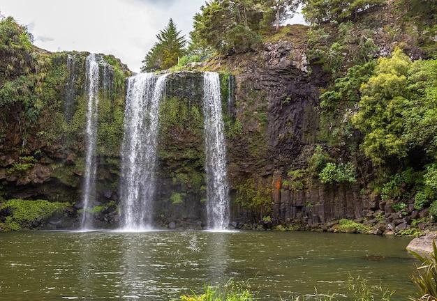 Водопад вангареи