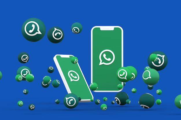 Whatsapp icon 3d render