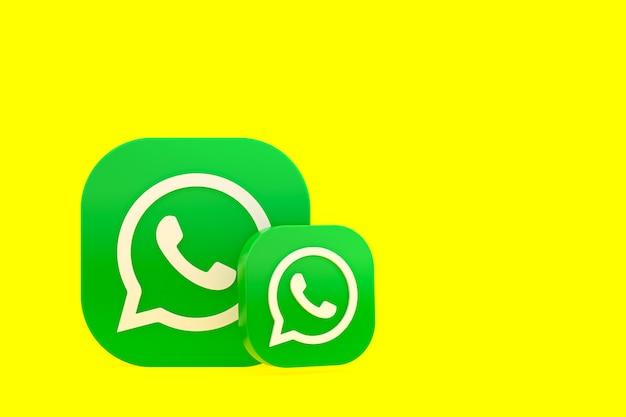 Визуализация значка логотипа whatsapp