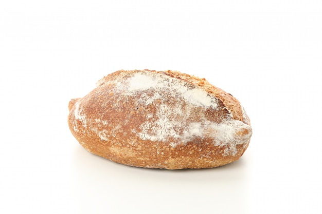 Wheat bread isolated . bakery products