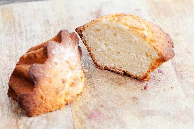 小麦のカップケーキ