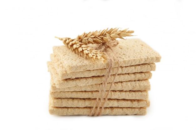 Хлебцы круглые пшеничные