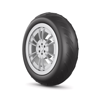 Рулевое колесо. изолированный 3d-рендеринг