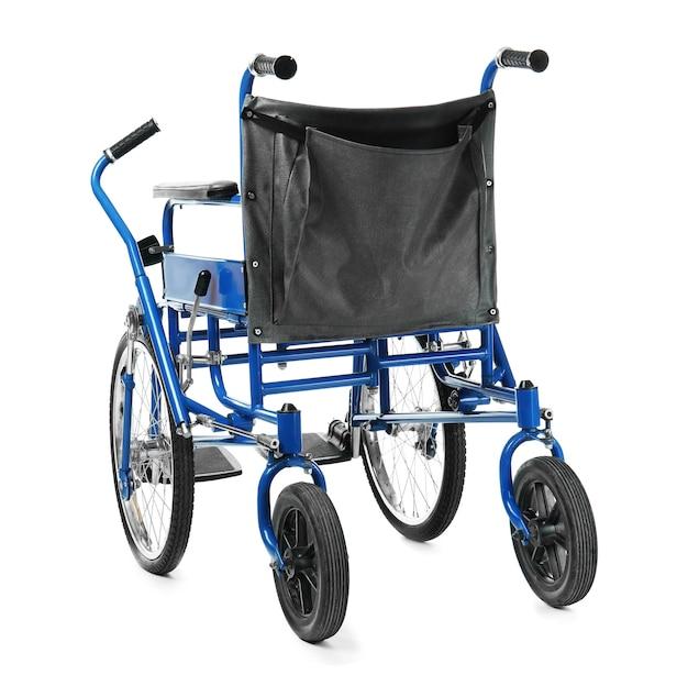 휠체어 흰색 절연