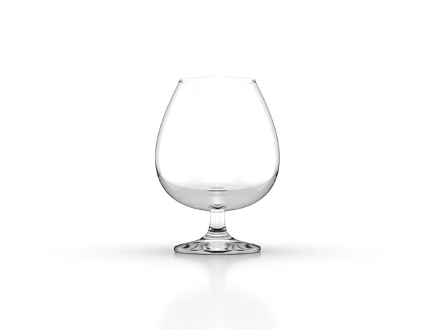 Whiskey glass isolated closeup
