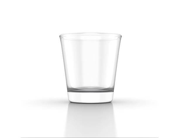 Стакан для виски, скотч, бурбон, творческий, изолированные на белом фоне